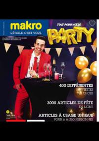 Prospectus Makro MACHELEN : Tout pour votre party