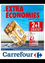 Prospectus Carrefour : Les extras économies tombent à pic 3 !