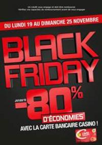 Prospectus Géant Casino SAINT-LOUIS : Black Friday – Bon plan carte bancaire Casino