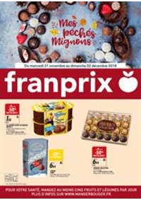 Prospectus Franprix : Mes Péchés Mignons