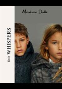 Prospectus Massimo Dutti LEVALLOIS-PERRET : Little Whispers
