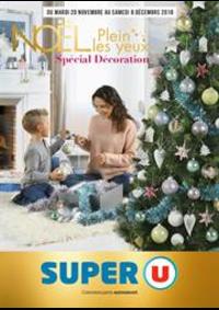 Prospectus Super U ECOUEN : Noël plein les yeux spécial décoration