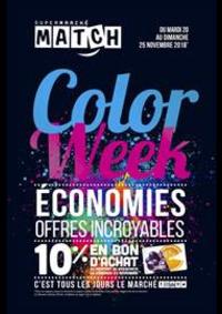 Prospectus Supermarchés Match Meaux : Color Week