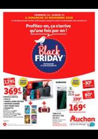 Prospectus Auchan Plaisir : Profitez-en, ça n'arrive qu'une fois par an !