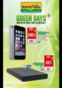 Prospectus Bureau Vallée - Courbevoie : Green Days