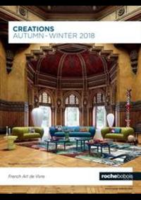 Prospectus Roche Bobois Galeries Lafayette - Lafayette Maison : Creations Autumn Winter 2018