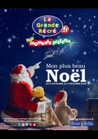 Prospectus La grande Récré ARGENTEUIL : Mon plus beau Noël