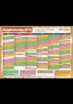Promos et remises  : Mondkalender 2019