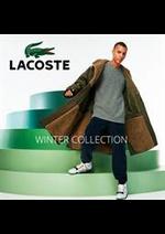 Prospectus Lacoste : Lacoste Winter Collection