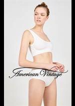Prospectus American Vintage : Homewear Femme