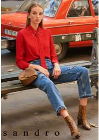 Prospectus Sandro LEVALLOIS PERRET : Tops & Chemises Femme