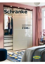 Prospectus IKEA : Schranke 2018