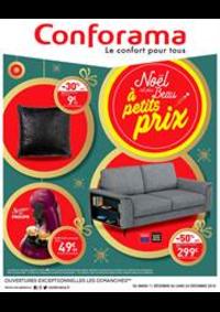 Prospectus Conforama COLOMBES : Noël est plus Beau à petits prix