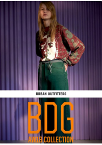Catalogues et collections Urban Outfitters BRUXELLES : The BDG collection