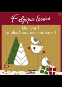 Prospectus Belgique Loisirs Bruxelles  : Un livre, le plus beau des cadeaux!