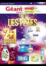 Prospectus Géant Casino : Faites les fêtes