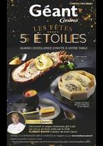 Prospectus Géant Casino : Les fêtes 5 étoiles