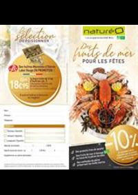 Prospectus NaturéO BALLAINVILLIERS : Bon de commande poissonnerie Ballainvilliers