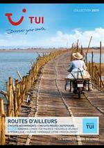 Prospectus TUI : Brochure Route d'Ailleurs Collection 2019