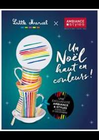 Prospectus AMBIANCE & STYLES ST GREGOIRE : Un noël haut en couleurs!