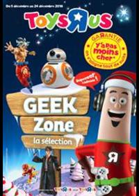 Prospectus Toys R Us VILLEBON sur YVETTE : Geek Zone la sélection