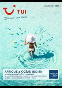 Prospectus TUI Paris 1 : Brochure Afrique & Océan Indien Collection 2019