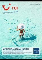 Promos et remises  : Brochure Afrique & Océan Indien Collection 2019