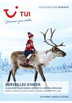 Prospectus TUI : Brochure Merveille d'Hiver Collection Hiver 2018/2019
