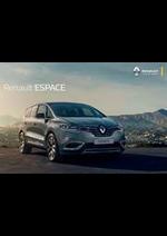 Prospectus Renault : Renault Espace