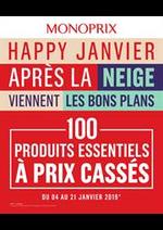Prospectus Monoprix : Happy Janvier