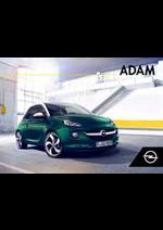 Prospectus opel : Opel Adam