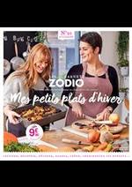 Prospectus Zôdio : Mes petits plats d'hiver