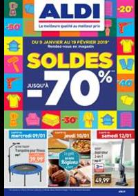 Prospectus Aldi : Soldes jusqu'à -70%