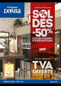 Prospectus Ixina : Soldes jusqu'à -50%