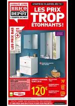 Prospectus Brico Dépôt : Les prix trop étonnants!