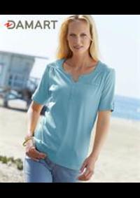 Prospectus Damart PARIS 8 : T-Shirts Femme