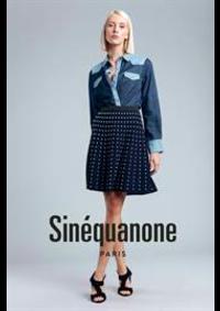 Prospectus Sinequanone Paris 9eme : Collection Jupes