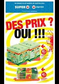 Prospectus Super U MANDEURE : DES PRIX ? OUI !!!