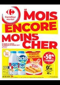 Prospectus Carrefour Market TREMBLAY EN FRANCE : Le mois encore moins cher 4