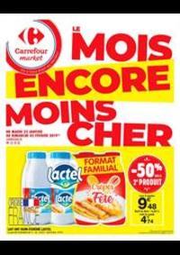 Prospectus Carrefour Market PARIS 102-104 AVENUE GENERAL LECLERC : Le mois encore moins cher 4