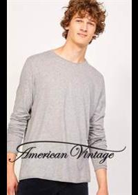 Prospectus American Vintage Strasbourg : Collection Homme