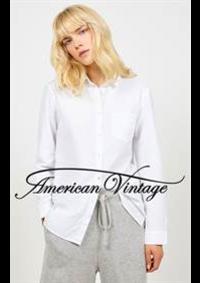 Prospectus American Vintage Strasbourg : Chemise Femme