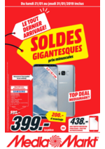 Prospectus Media Markt : Soldes Gigantesques