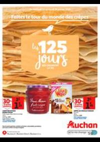 Prospectus Auchan VILLETANEUSE : Faites le tour du monde des crêpes