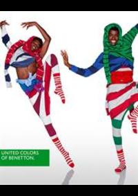 Prospectus United Colors Of Benetton PARIS 51/53 BOULEVARD HAUSSMANN : Pré-Collection Printemps/Été - Homme