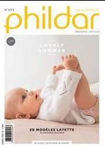 Prospectus Phildar : 20 Modéles Layette