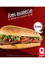 Promos et remises  : A la carte chez Quick