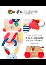 Prospectus Oxybul Eveil & jeux : À la découverte de ses talents!