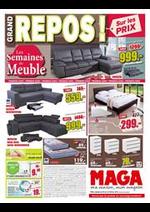 Prospectus Maga Meubles : Repos!