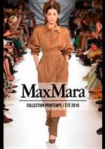 Prospectus Max Mara : Collection Printemps/Été 2019